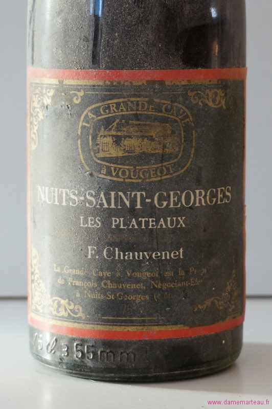 F. Chauvenet Nuits Saint Georges Bourgogne