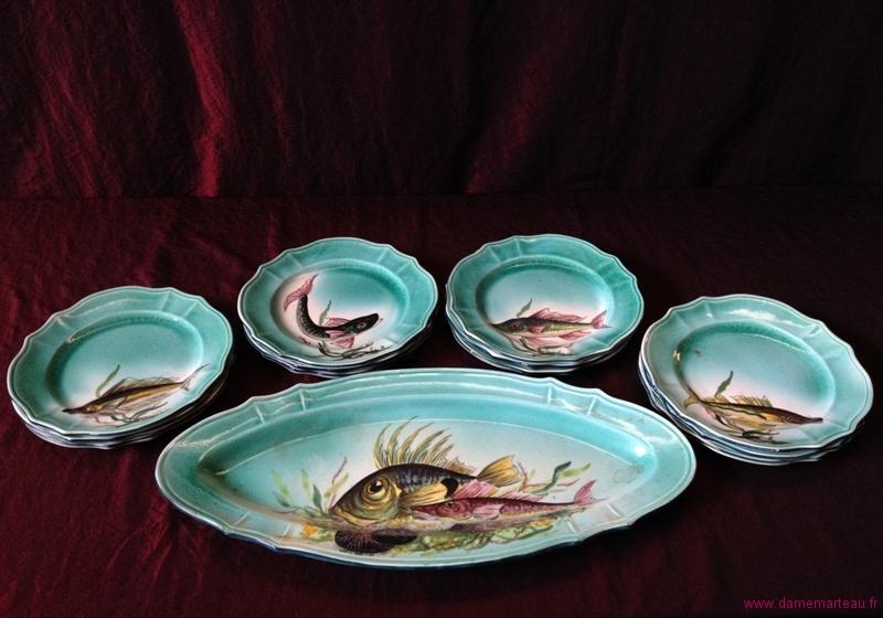 Vente catalogu e de tableaux xixe xxe et c ramiques du for Acheter des poissons